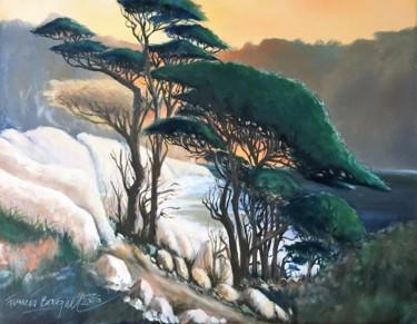 """Peinture intitulée """"Impression soleil l…"""" par Francis Bocquet, Œuvre d'art originale, Huile"""